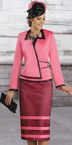 Donna Vinci Couture Womens Church Suit 5365 French Novelty