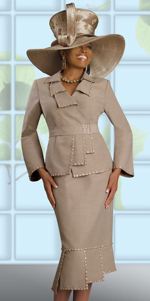 Donna Vinci Couture Womens Church Suit 5369 French Novelty
