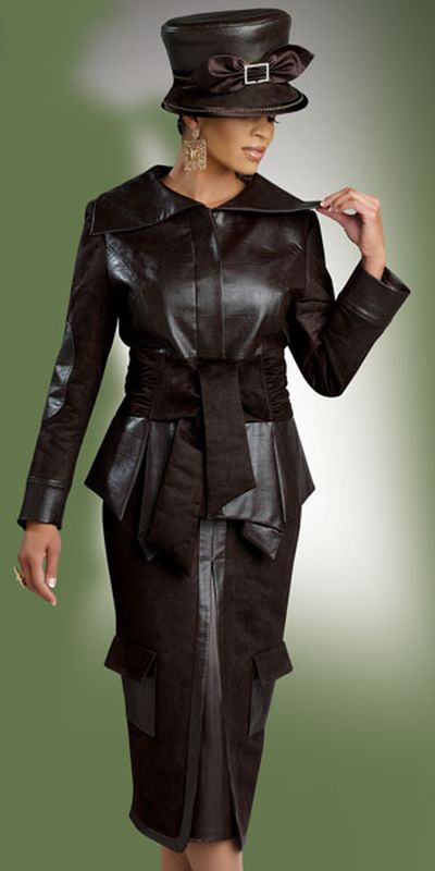 Donna Vinci Couture 5398 Womens Church Suit French Novelty