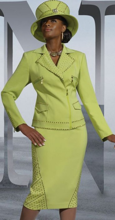 Donna Vinci Couture 5420 Womens Church Suit French Novelty