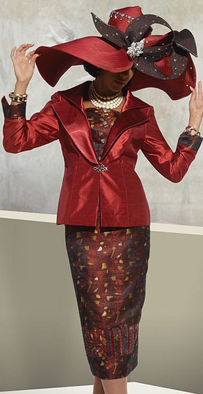Donna Vinci 5433 Couture Womens Church Suit French Novelty