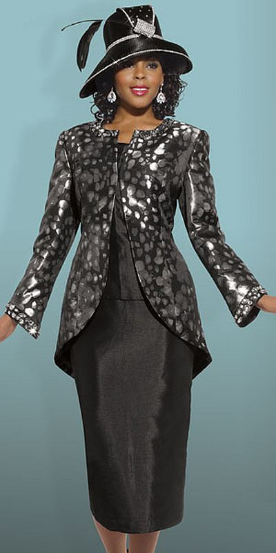 Donna Vinci Couture 5442 Womens Church Suit French Novelty
