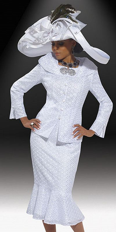 Donna Vinci Couture Womens Church Suit 5443 French Novelty