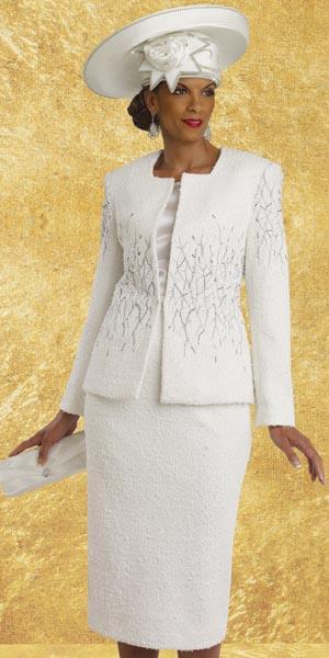 d6d3545bb6e Donna Vinci Couture 5458 Womens 3pc Church Suit  French Novelty