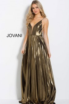 1fa13b038975 Jovani 54799 Gold Backless Prom Gown
