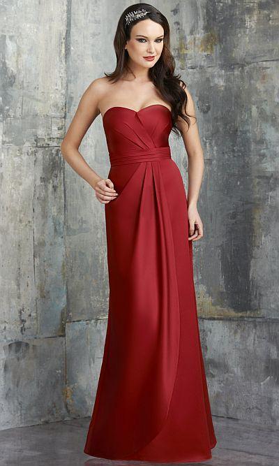 Bari Jay 548 Long Jolie Satin Bridesmaid Gown: French Novelty