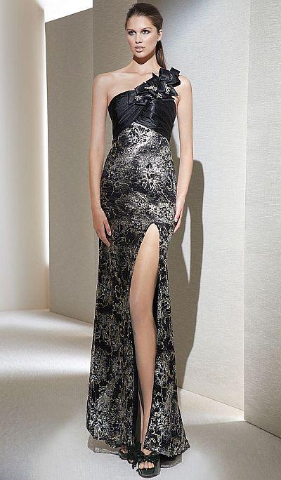 Metallic Evening Dresses