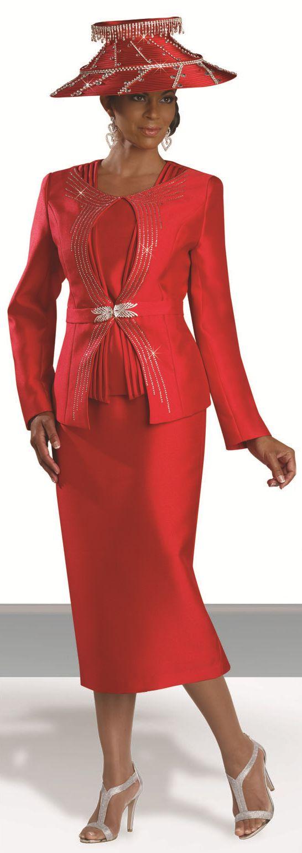 Donna Vinci 5481 Womens Designer Church Suit French Novelty