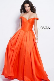 Jovani 54970 Off the Shoulder Sweetheart Gown 72131634a