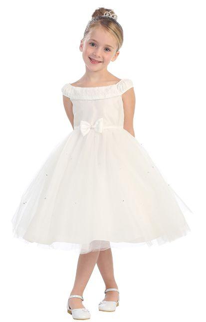 c3b41077524 Tip Top 5582 Flower Girls Tulle Dress  French Novelty
