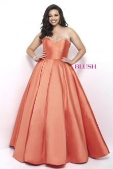 Orange Evening Dresses: French Novelty