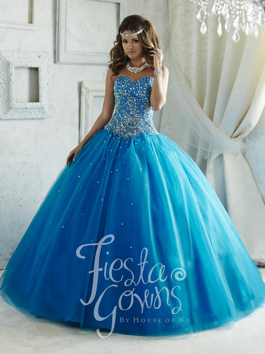 House Of Wu 56289 Fiesta Quinceanera Gown French Novelty