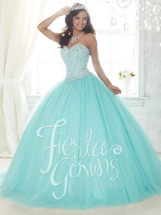 House of Wu Fiesta 56300 Sweet 16 Ball Gown: French Novelty