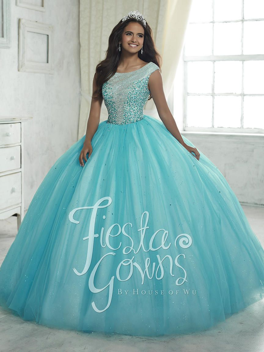 House Of Wu Fiesta 56313 Quince Dress With Sequins French