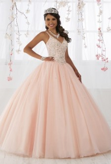 b7e63f6077b Wu Fiesta 56371 Ball Gown with Shimmering Stones