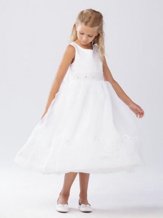 020b8b9f600 Tip Top 5639 Flower Girls Sleeveless Dress  French Novelty