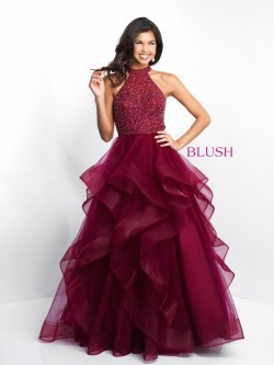 Ruffle Formal Dresses