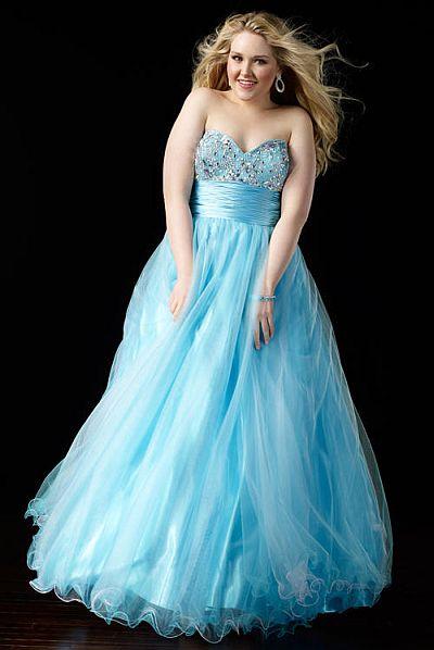 Alyce Prom Princess Plus Size Dress 56835 French Novelty