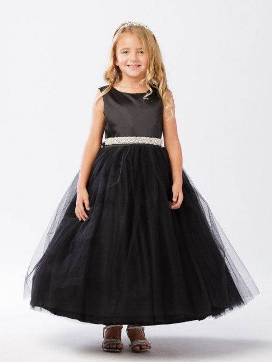 df45e408e9f Tip Top 5700 Flower Girls Dress with Choice of Sash  French Novelty