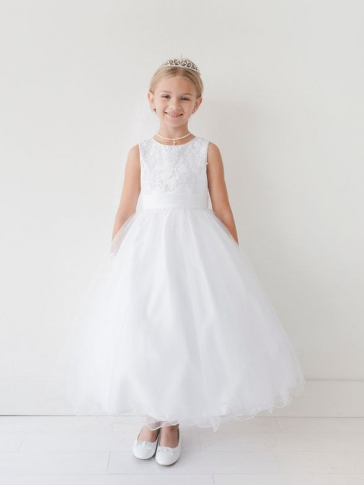 760be87f4a7 Tip Top 5704 Flower Girls Lace Top Dress  French Novelty