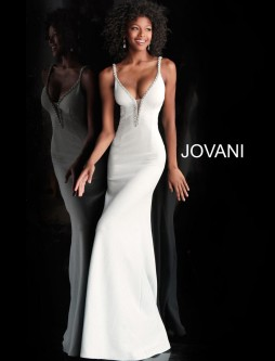 c52eed81b14 Jovani 59481 Fitted Glitter Prom Gown