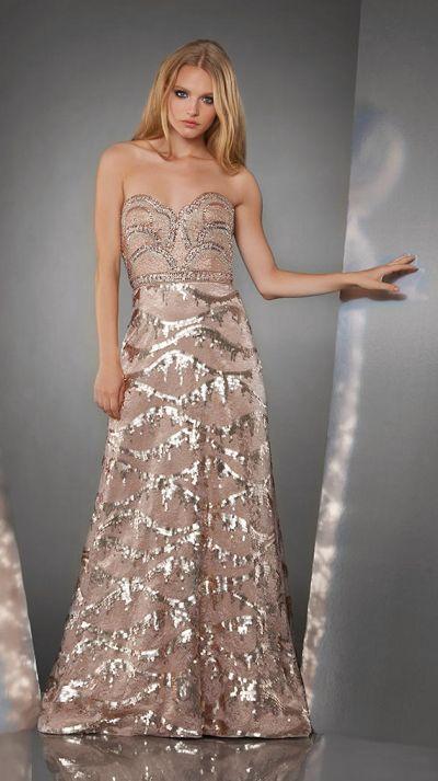 Shimmer By Bari Jay 59850 Boho Beaded Lace Long Dress