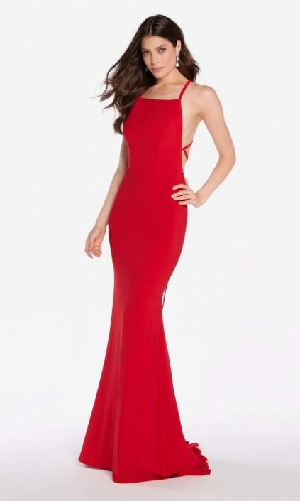 Alyce Paris 60001 Open Lace Up Back Prom Dress French Novelty