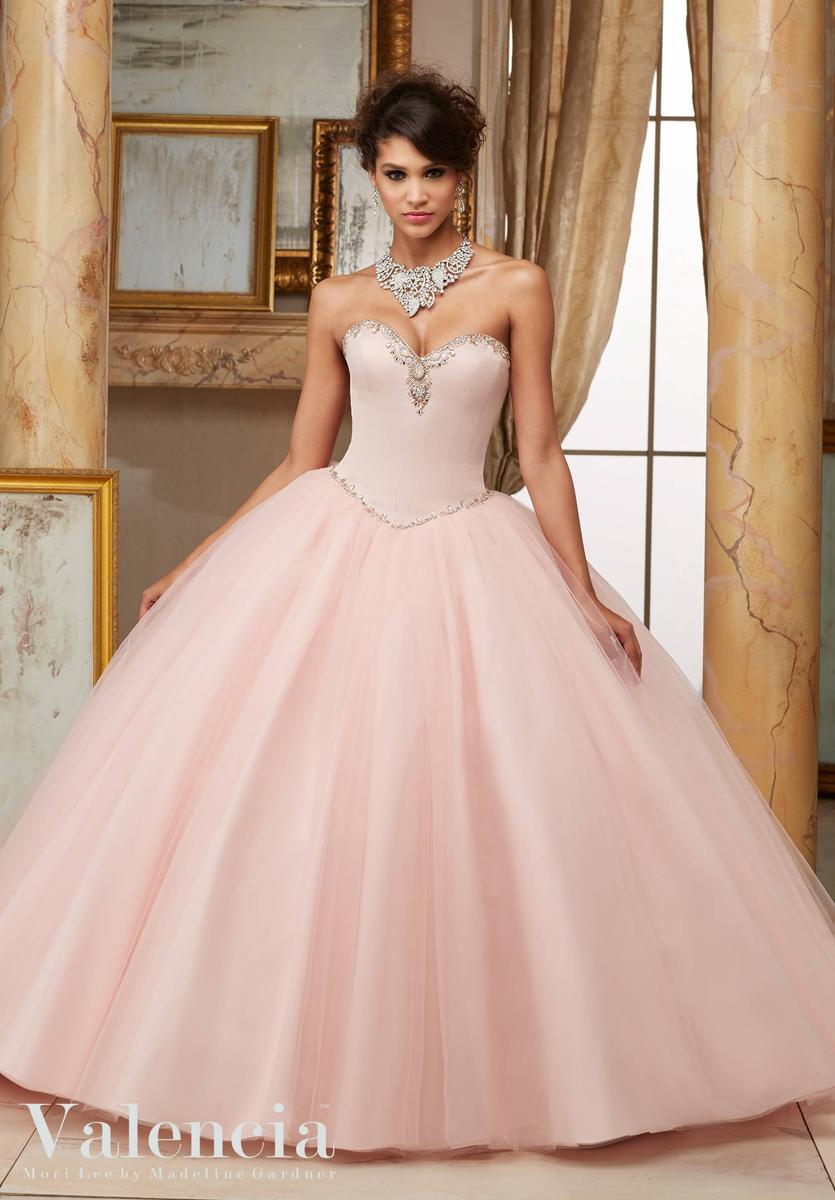 Valencia 60005 jeweled quinceanera ball gown french novelty for Immediate resource wedding dresses