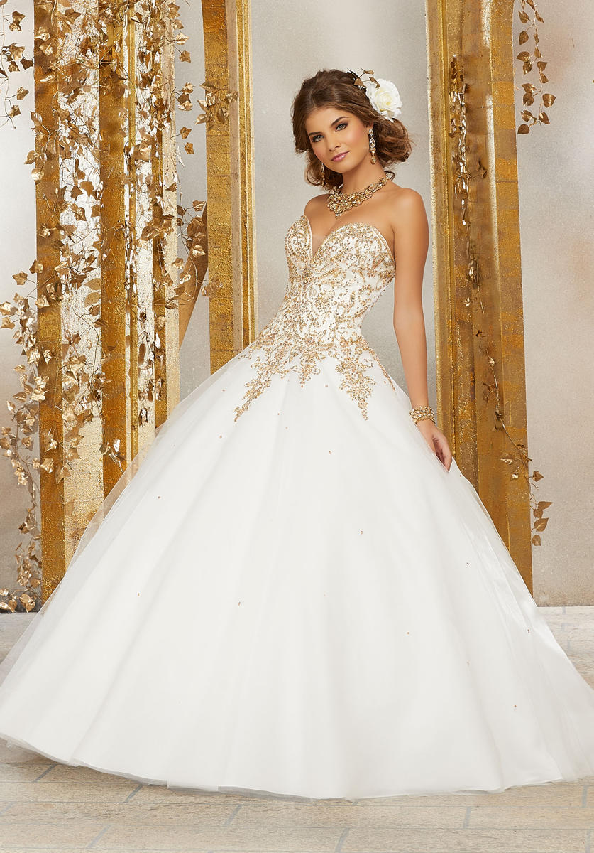 Valencia 60074 Sweetheart Quinceanera Dress French Novelty