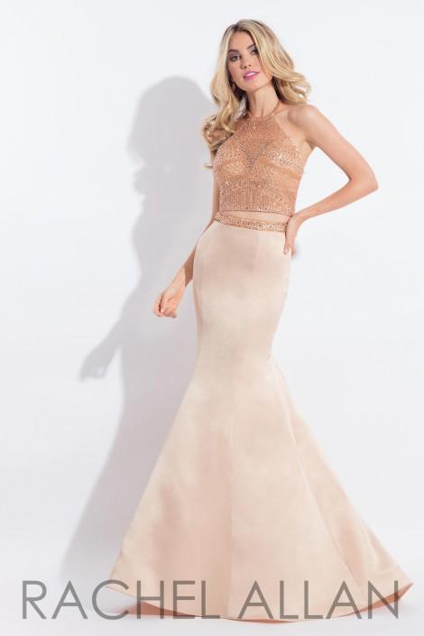 2 Piece Mermaid Prom Dresses