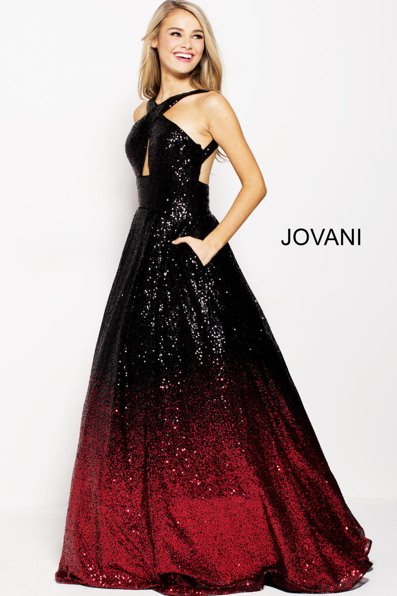Jovani 60270 Ombre Sequin Prom Gown French Novelty