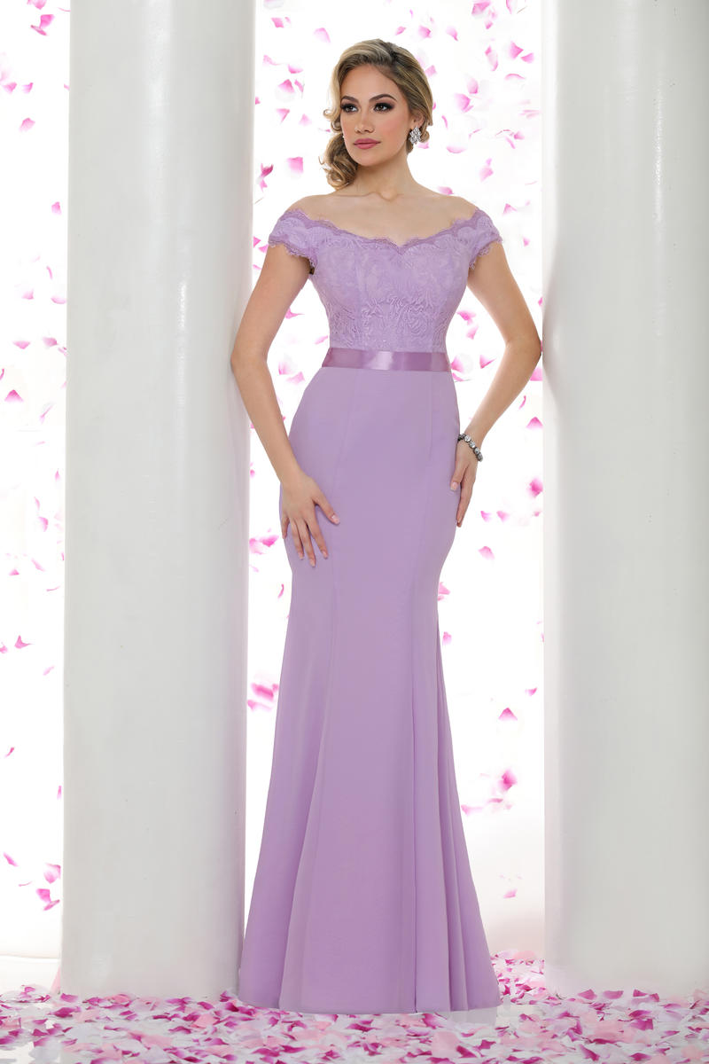 Davinci 60276 bridesmaid dress french novelty for Da vinci red wedding dress
