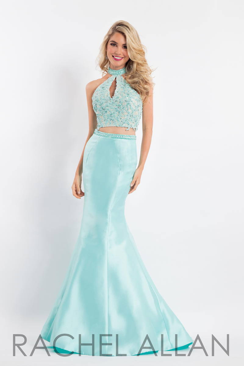Rachel Allan 6031 Mermaid 2 Piece Prom Dress: French Novelty