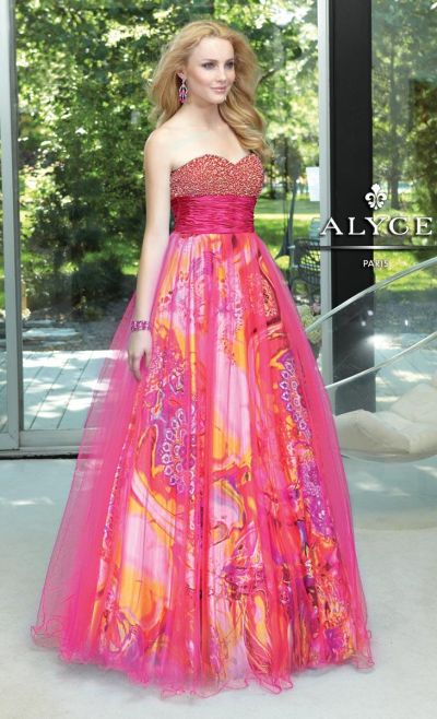 Alyce Paris 6060 Formal Dress for Spring 2013: French Novelty