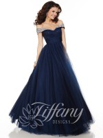 Tiffany Presentation 61123 Off Shoulder Ball Gown image