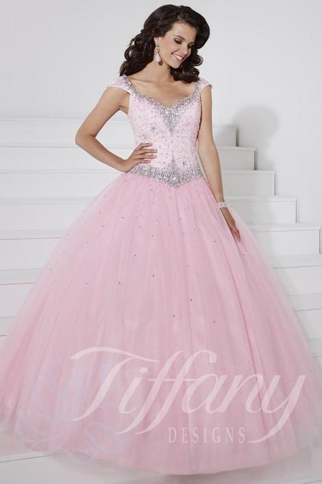 8b8823ab3ab Tiffany Presentation 61126 Glitter Tulle Ball Gown  French Novelty
