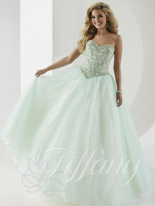 2a80c0fbaa9 Tiffany Presentation 61148 Tulle Quinceanera Dress  French Novelty