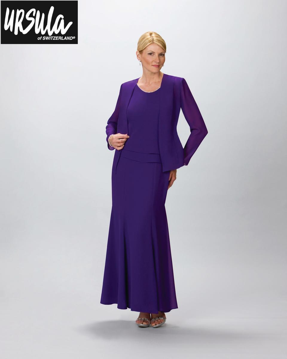 Ursula Of Switzerland 61193 Plus Size Evening Dress