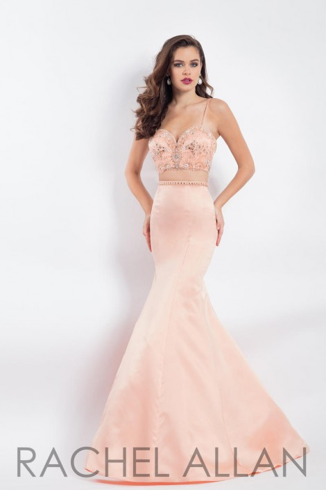 715bf15fd0b41 Rachel Allan 6147 Mermaid 2 Piece Prom Dress: French Novelty