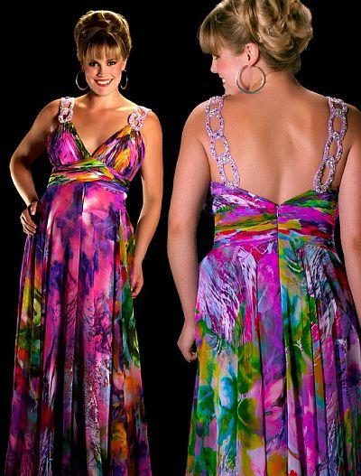 Cassandra Stone Ii Figure Flattering Plus Size Prom Dress 6285k