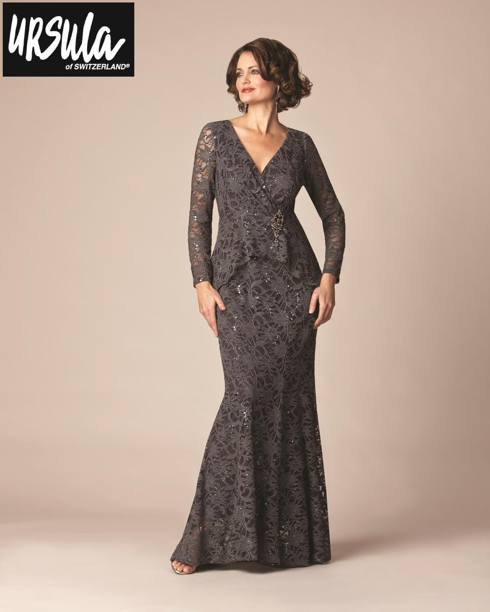 Ursula Of Switzerland 63141 Plus Size Lace Mothers Gown