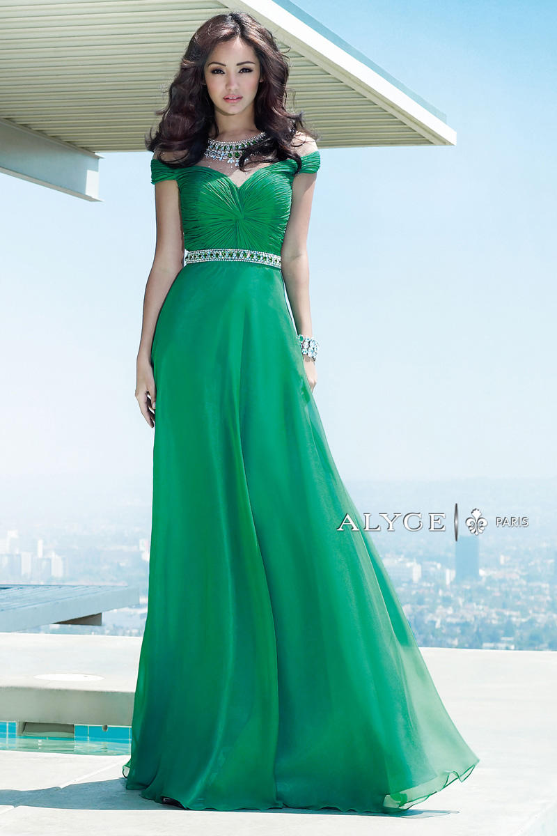 Alyce paris 6333 off shoulder formal dress french novelty ombrellifo Image collections