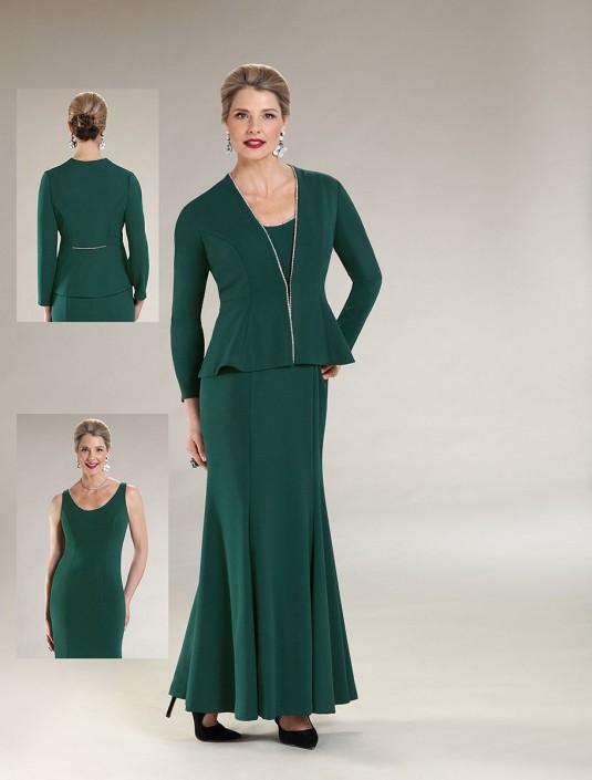 Ursula 63339 Mothers Plus Size Jacket Dress