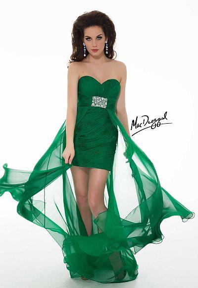 7dbdb1bad14 Mac Duggal High Low Homecoming Dress 6359N  French Novelty