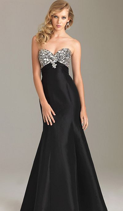 f3e16276e4c Night Moves Elegant but Sexy Lace-Up Back Prom Dress 6431  French Novelty