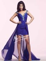 Mac Duggal 64722N High Low Party Dress image