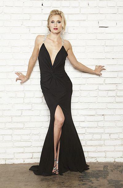 Nicole Bakti Evening Dress 6475 French Novelty