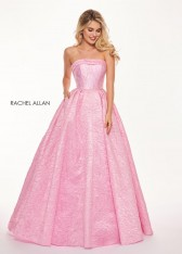 2f06718f511a Size 4 Rose Pink Rachel Allan 6490 Prom Dress with Pockets