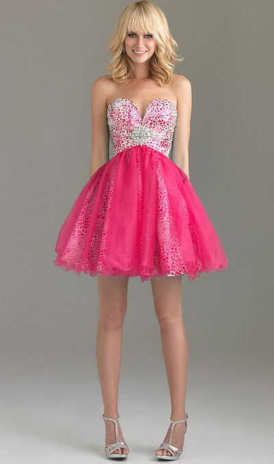 Night Moves Fun And Flirty Short Prom Dress 6494