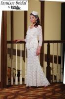 Lasuisse Bridal by Ursula 65002 Plus Size Destination Dress image